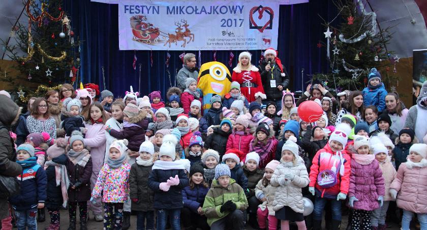 Rekreacja, Festyn Mikołajkowy Bielsku Podlaskim - zdjęcie, fotografia