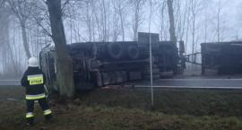Wypadek w Knorydach – zablokowana DK 19 [zdjęcia]